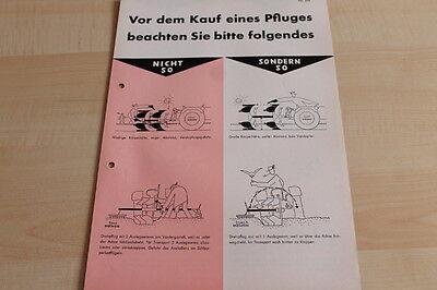 Kaufberatung Pflüge Rabewerk Prospekt 04/1970 144509