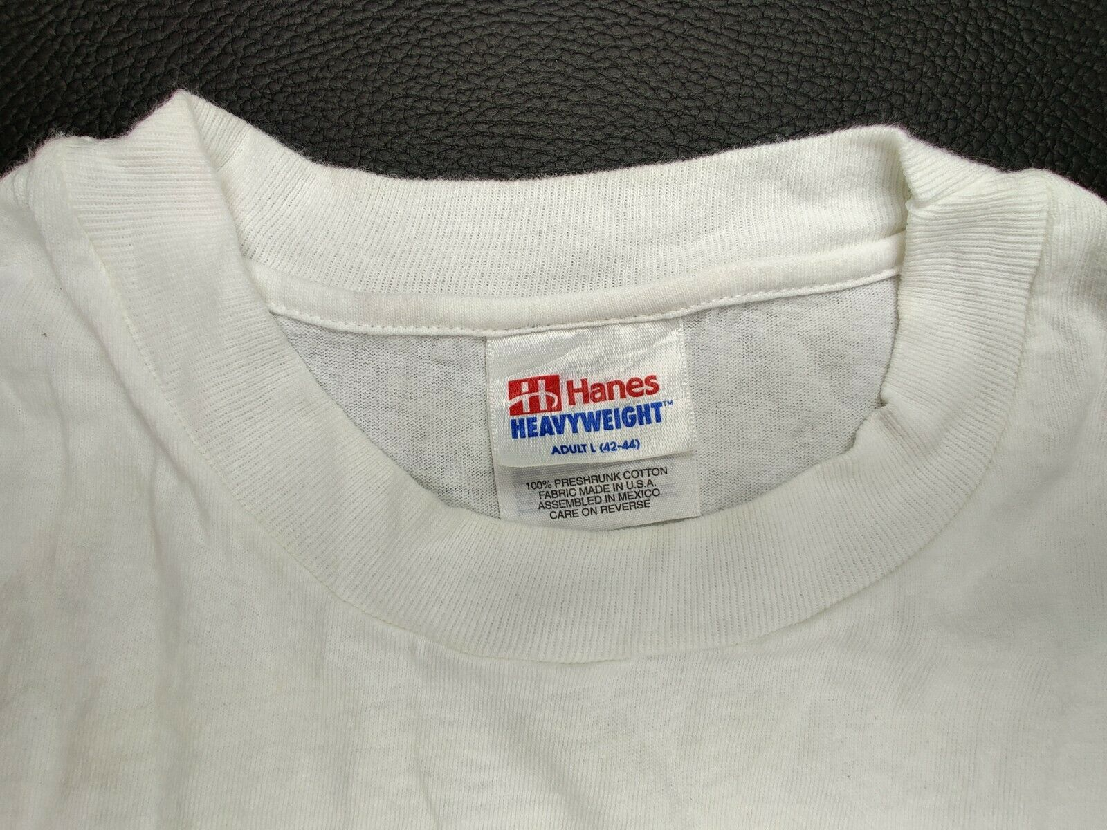 """Hanes Heavy Weight """"Vtg"""" Men's Large """"I Was Born … - image 3"""