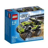 Lego City Great Vehicles 60055 Monster Truck , New, Free Shipping