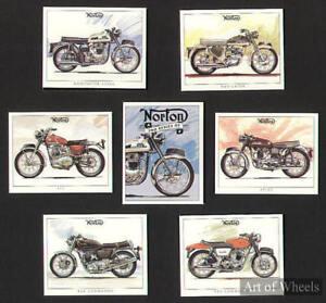 Norton-750-850-Commando-P11-Navigator-Atlas-Trade-Cards