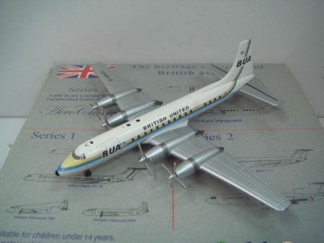 exclusivo Aeroclassics 400 Bua Bua Bua British United Bristol Britannia 307  1965s Color  1 400  El ultimo 2018