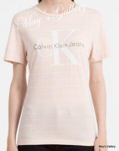 Calvin-Klein-T-shirt-Polo-T-Shirt-Tank-Top-Tee-Blouse-SS-NWT-Woman-CK-XS-S-M-L
