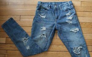 LEVIS-Jeans-pour-Femme-W-27-L-32-Taille-Fr-36-Ref-Y040