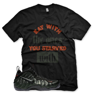 3ac4c4ac81ec5 New STARVED WITH T Shirt for Nike Pro Foamposite Sequoia Orange ...