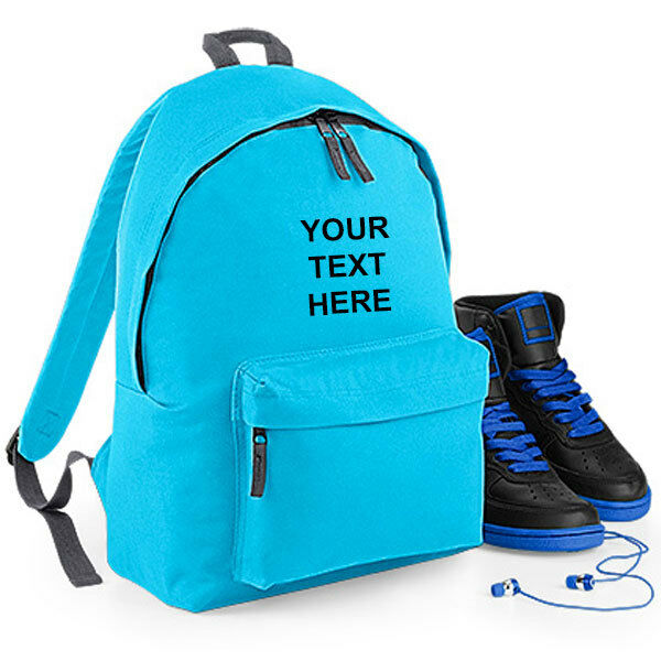 de13816cbbbe Personalised Kids CHILDRENS BACKPACK Small Rucksack School Bag Fashion  BG125J