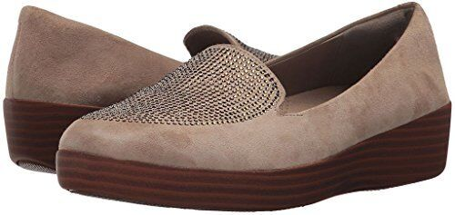 FitFlop Damenschuhe Sparkly Sneakerloafer Slip-On - Pick SZ/Farbe.