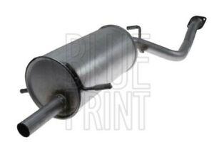 Exhaust Box fits SUBARU IMPREZA GD9 2.0 00 to 09 Silencer