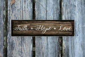 Hope 8x10 FT Photo Backdrops,Antique Anchor and Spiritual Symbol on Heart Motif with Faith Hope Love Quote Background for Baby Birthday Party Wedding Vinyl Studio Props Photography Ruby Grey Beige