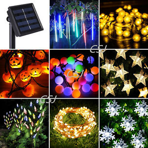 Solar-Power-LED-Fairy-String-Lights-Snow-Ball-Star-Meteor-Shower-Xmas-Tree-Lamp