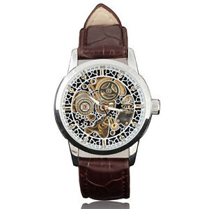 Classic-Orient-Arts-Skeleton-Dial-Leather-Band-Auto-Mechanical-Men-Wrist-Watch-s