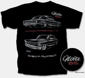 nova ss t shirt black chevy classics blackline s. Black Bedroom Furniture Sets. Home Design Ideas
