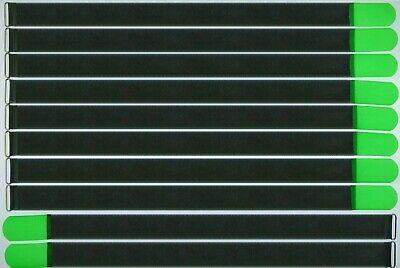 10 X Kabelklettband Fk 80 Cm X 50 Mm Neon Grün Klettband Klett Kabel Binder Band Angemessener Preis