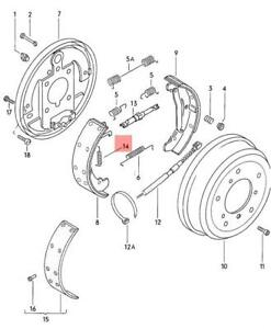 Details about Genuine VW Spring NOS VW Lt 4X4 Typ 2 Syncro Vanagon  291609859A