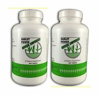 Green Supreme Barley Power - 400 Tablets (pack Of 2) Free Shipping