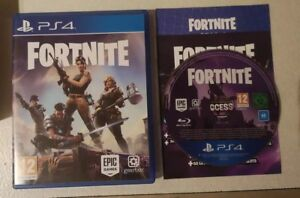 Fortnite Physical Game Disc Ps4 Rare Disc Excellent Condition Ebay