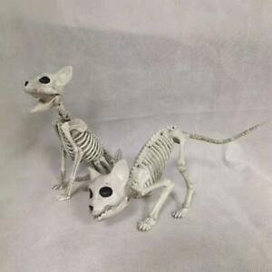 Halloween-Dog-Skeleton-Prop-Animal-Bone-Model-Horror-Decoration-Party-P4D7