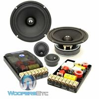 Cdt Audio Es-52i 5.25 Eurosport 2-way Component Speakers Set W/ Silk Tweeters