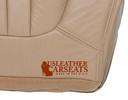 2000 2001 2002 Ford Expedition Passenger Bottom Leather Seat Cover Parchment Tan