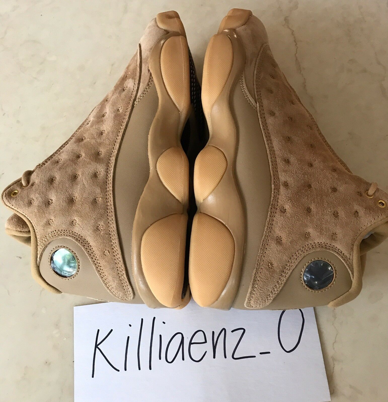 NEW DS 2017 Air Jordan Retro 13 XIII  Wheat  gold Baroque Brown Yellow 414571-70