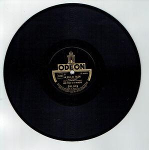 78T-Louis-FERRARI-Orchestre-Musette-Disque-Phono-LA-BELLE-DE-TOLEDE-ODEON-281816