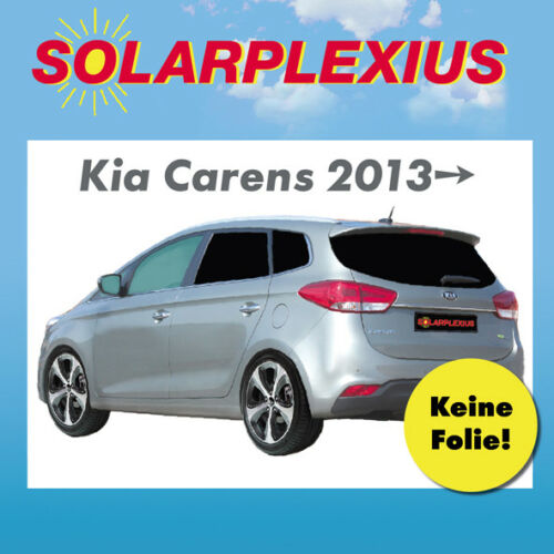Auto Sonnenschutz Scheiben-Tönung-tönen Sichtschutz  Kia Carens 4.Gen ab 13