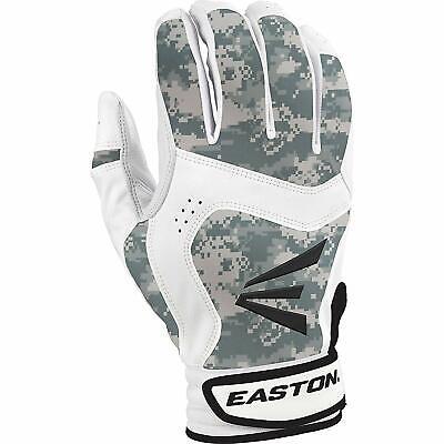 Easton Stealth Core YOUTH Baseball Batting Gloves NEW Digital Camo Green//White