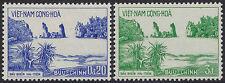 VIETNAM du SUD N°245/246** Plage de Hatien, 1964 South Viet Nam Sc#242-243 MNH