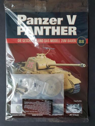 Panzer-V-Panther Nr. 88 Modell Bauteil Neu & OVP mit Heft