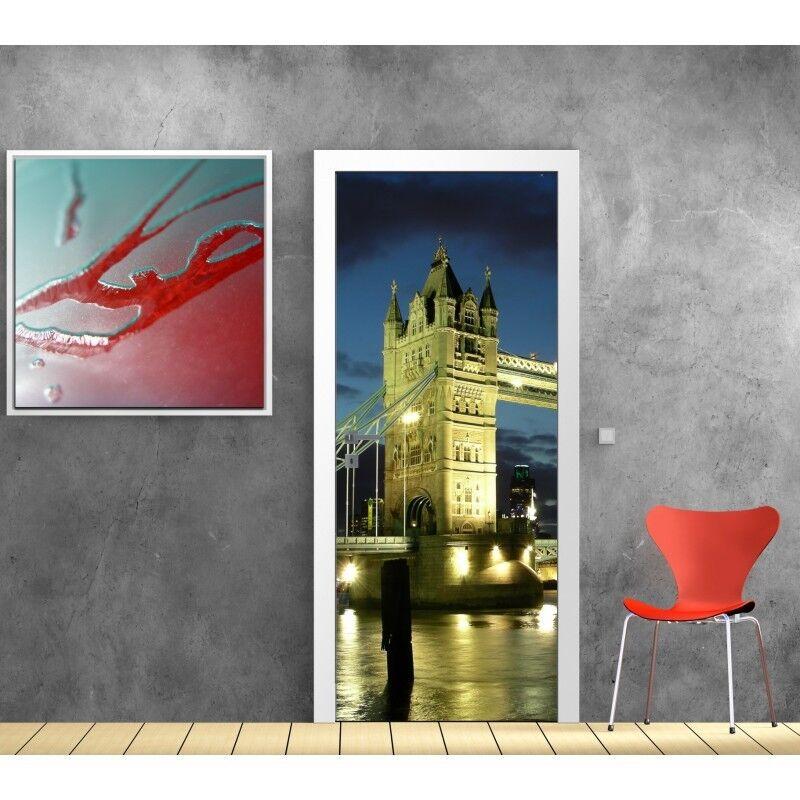 Plakat Plakat für Tür - Londres 701 Art Deco Aufkleber