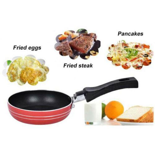 Mini Fried Eggs Saucepan Small Frying Pan Flat Non-stick Cookware Griddle Pan