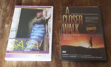 NM A Closer Walk & Sasa! DVD's about Women, Violonce and HIV/AIDS TWO MOVIES