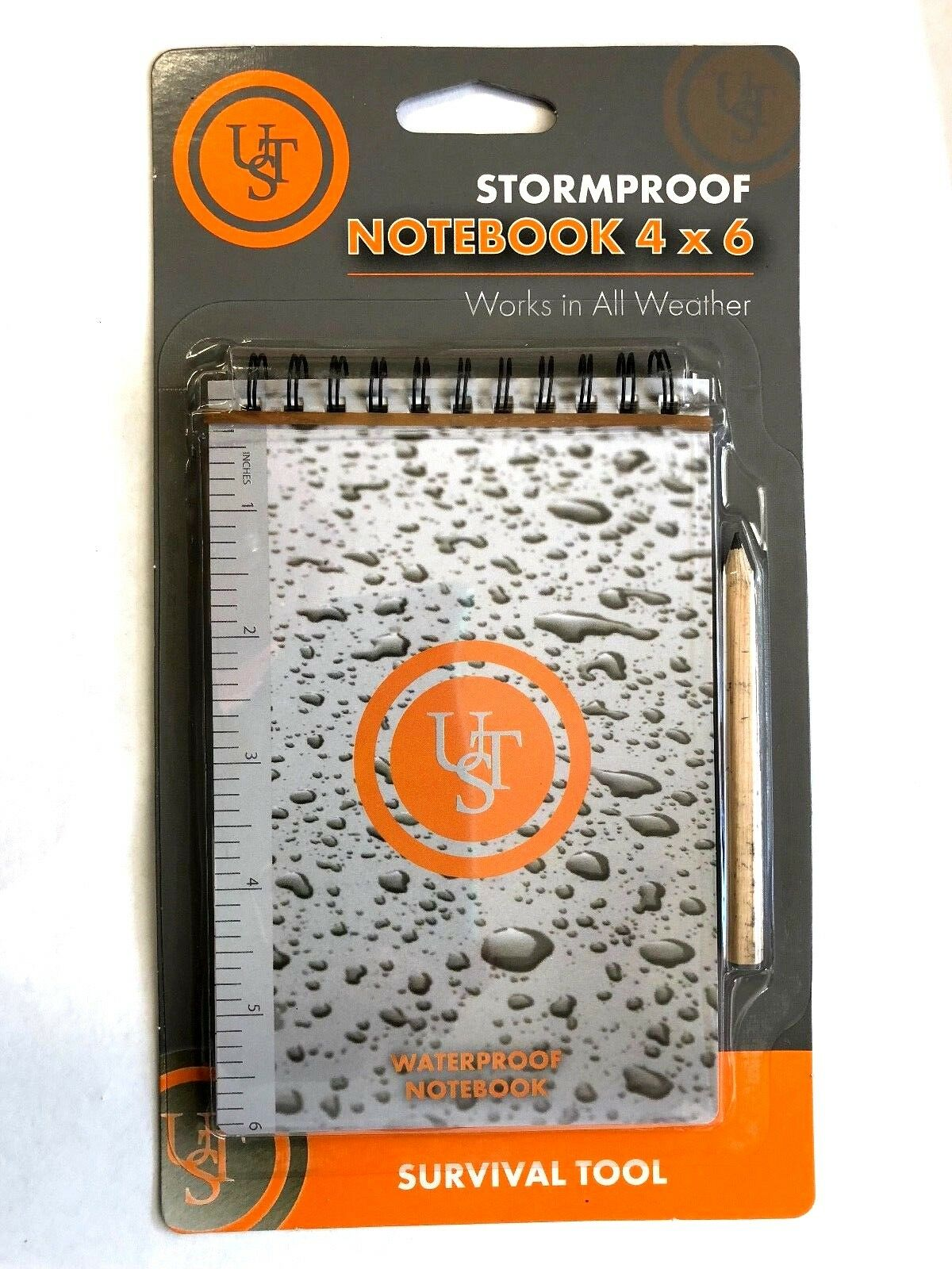 Details about  /Stormproof Notebook 4x6 all weather emergency disaster tactical preparedness UST