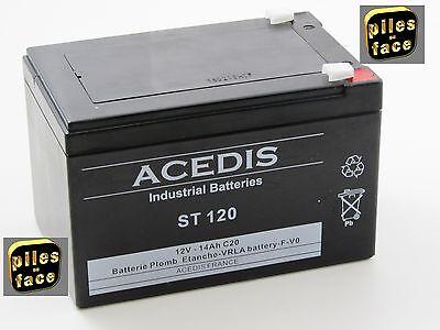 Batterie ACD ST120|Batterie Agm 12V 14Ah ACD ST 120