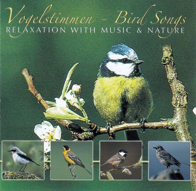 VOGELSTIMMEN - BIRD SONGS - RELAXTION WITH MUSIC & NATURE / CD - TOP-ZUSTAND