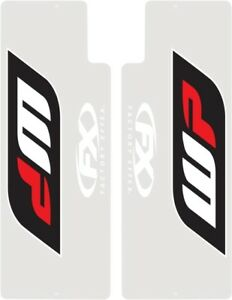 Factory Effex WP Suspension Fork Sticker Decal Shield CR CRF KX RM RMZ 17-38080