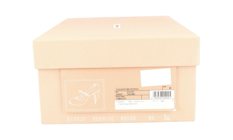 AUTHENTIC LUXURY MIU MIU PUMPS chaussures 5I9327 rouge NEW NEW NEW US 10 EU 40 40,5 UK 7 62a20f