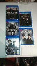 BBC Sherlock Season 1 2 3 Abominable Bride Bonus Disc Blu-ray DVD combo
