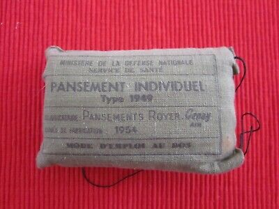 Ancien Pansement Type 1949 1954 French Army