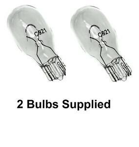 12v-16w-Capless-W2-1X9-5d-Brake-High-Level-Brake-Light-Single-element-Bulb-pair
