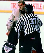 RON HEXTALL FLYERS NHL HOCKEY GOALIE FIGHT 8X10 PHOTO