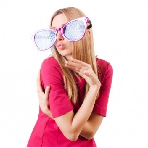 3x Géant lunettes 26 cm Party Lunettes géant Lunettes megabrille Clown Lunettes Nerdbrille