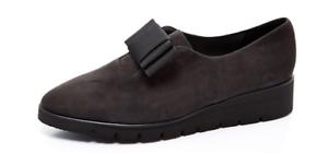 5 Kaiser Flatform Loafer grigio scuro 5 Peter Nelda Scamosciato Bow USqwp8