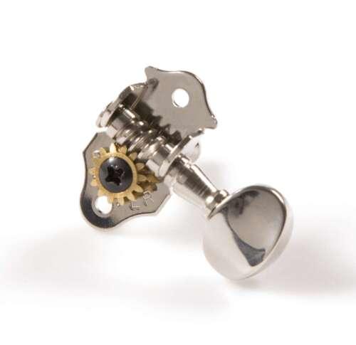 Genuine Grover Sta-Tite 8N Tuners for Ukulele Set 2+2 Nickel