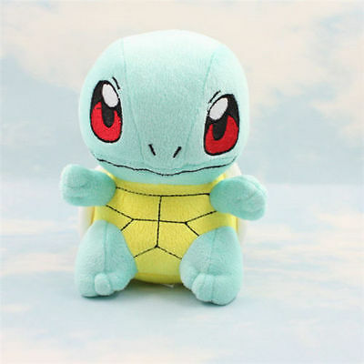 "6"" Pokemon Squirtle Kids Toy Soft Plush Stuffed Doll Toy kid's Free"