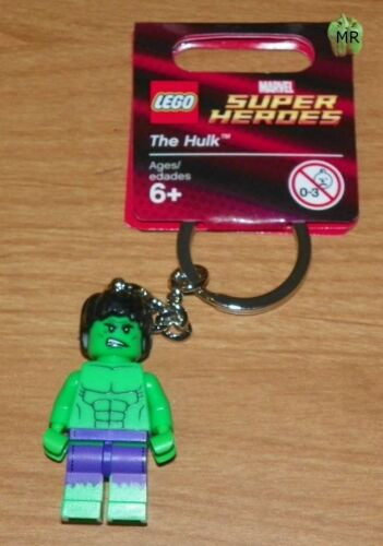 The HULK Key Ring LEGO Super Heroes Key Chain