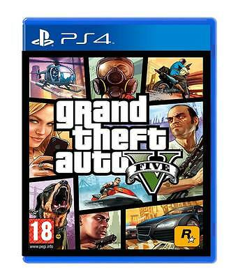 GTA 5 PS4 GRAND THEFT AUTO V EU PLAYSTATION 4 IN OFFERTA