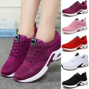 Sneakers-Sports-Shoes-Running-Ladies-Sports-Women-Thick-Bottom-1Pair-G4U1