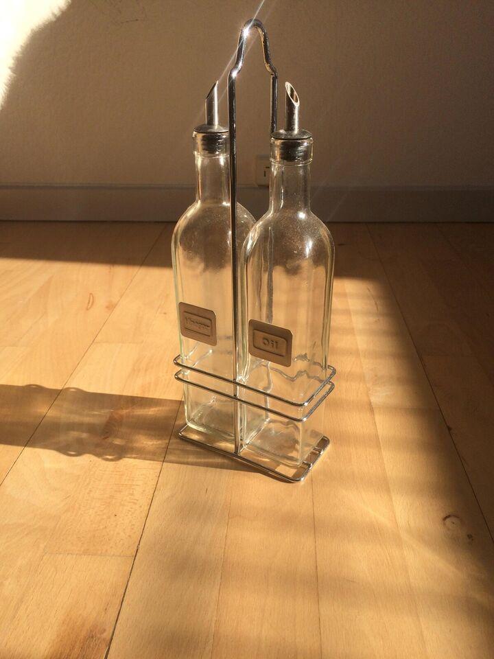 Glas, Olie og eddike sæt, Hendi