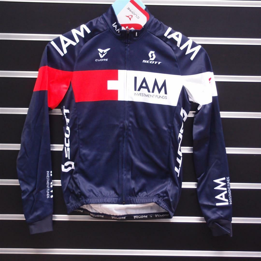 Cuore IAM  Replica Long Sleeve Kid's Cycling Jersey 140cm Size 140  reasonable price