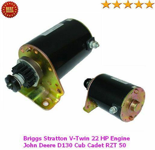 Starter For Cub Cadet Briggs /& Stratton RZT50 RZT 50 2005-2006